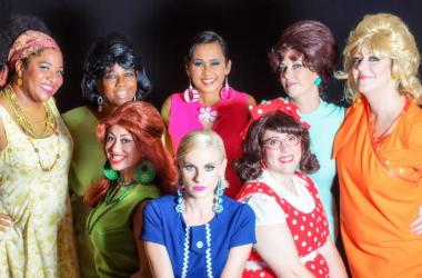 "The ladies of ""Shout! The Mod Musical"""