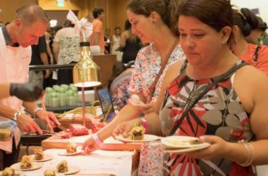 The evening Taste gala offers pasture-raised meats prepared by local chefs.