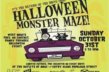 Halloween Monster Maze