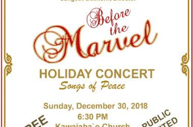 """Voices of Aloha presents """"Songs of Peace"""""""