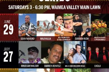 Waimea Valley Summer Concert Series