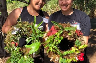 Wreath Making With Native Plants