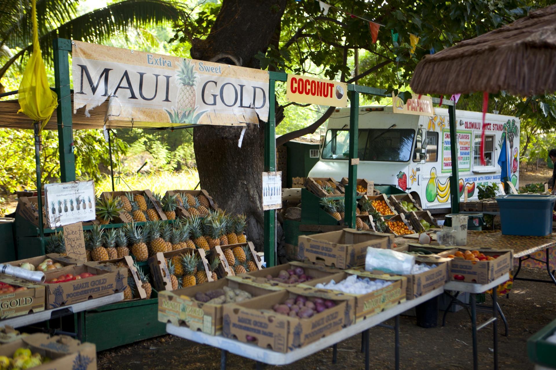Lahaina flea market