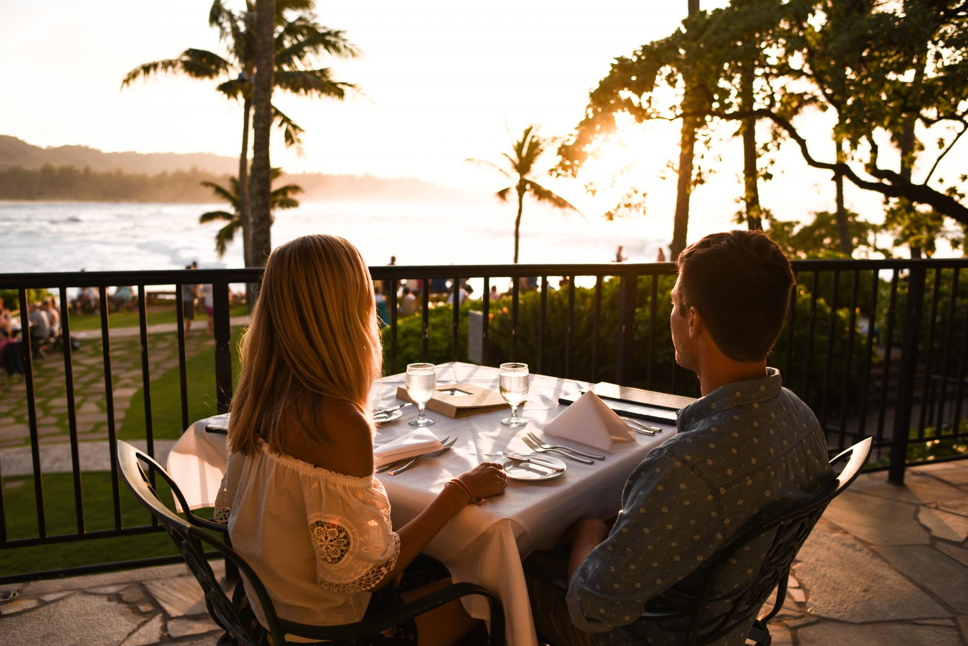 Dinner dates for two across the Hawaiian Islands