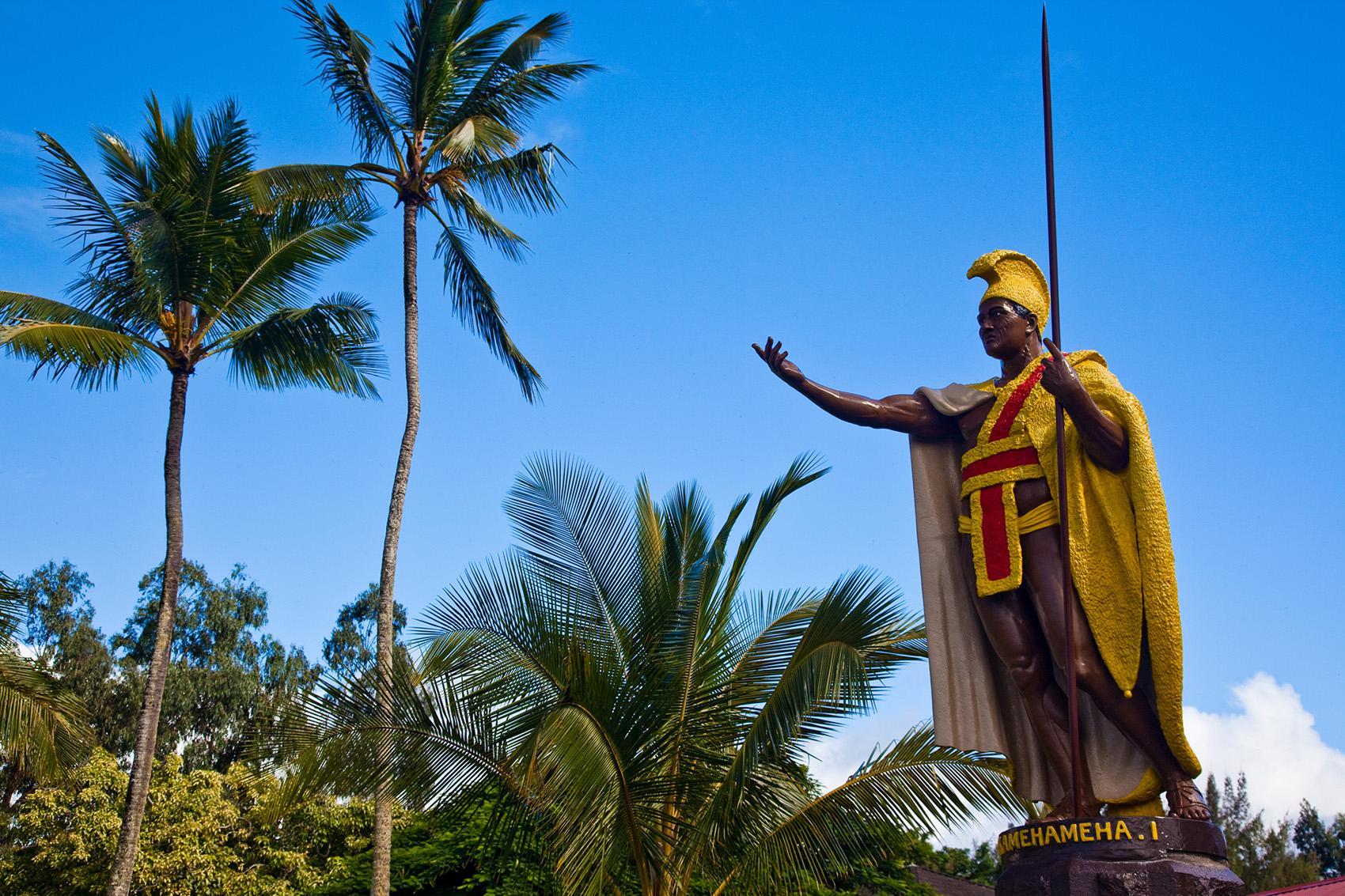 Statues of Hawaiian Heroes