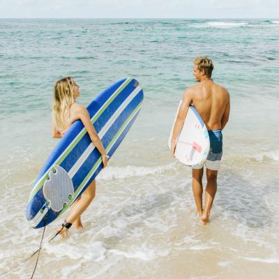 Surfing on Lanai