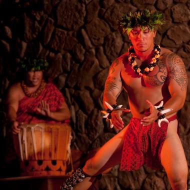 Male hula dancer - Male hula dancer
