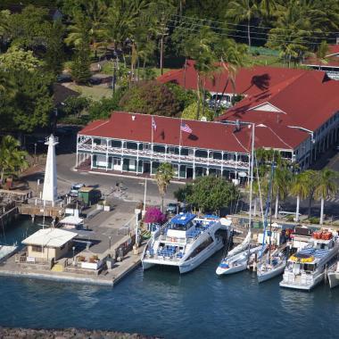 Overlooking Lahaina Harbor