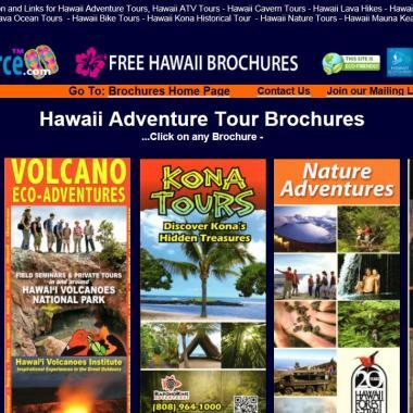 FREE Hawaii Online Brochures