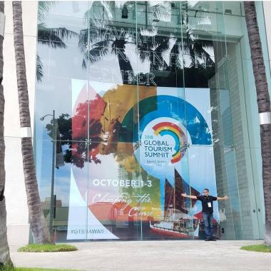 Large Convention Center Window Banners