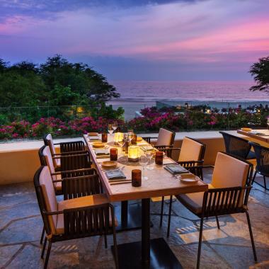 The Westin Hapuna Beach Resort Meridia Restaurant al fresco dining