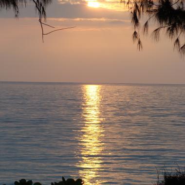 Sunrise over Waimanalo Beach