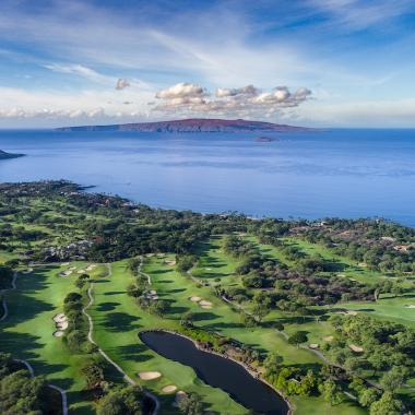 Aerial View of Wailea, Maui