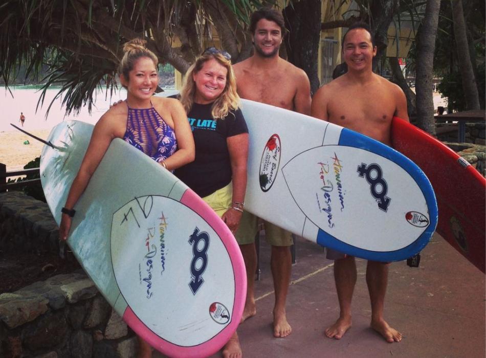 Come Visit Maui Surfers