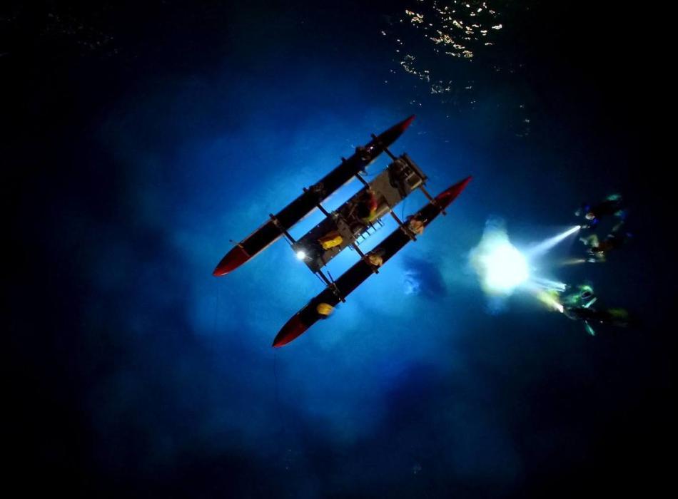 Night Manta Canoe Adventure