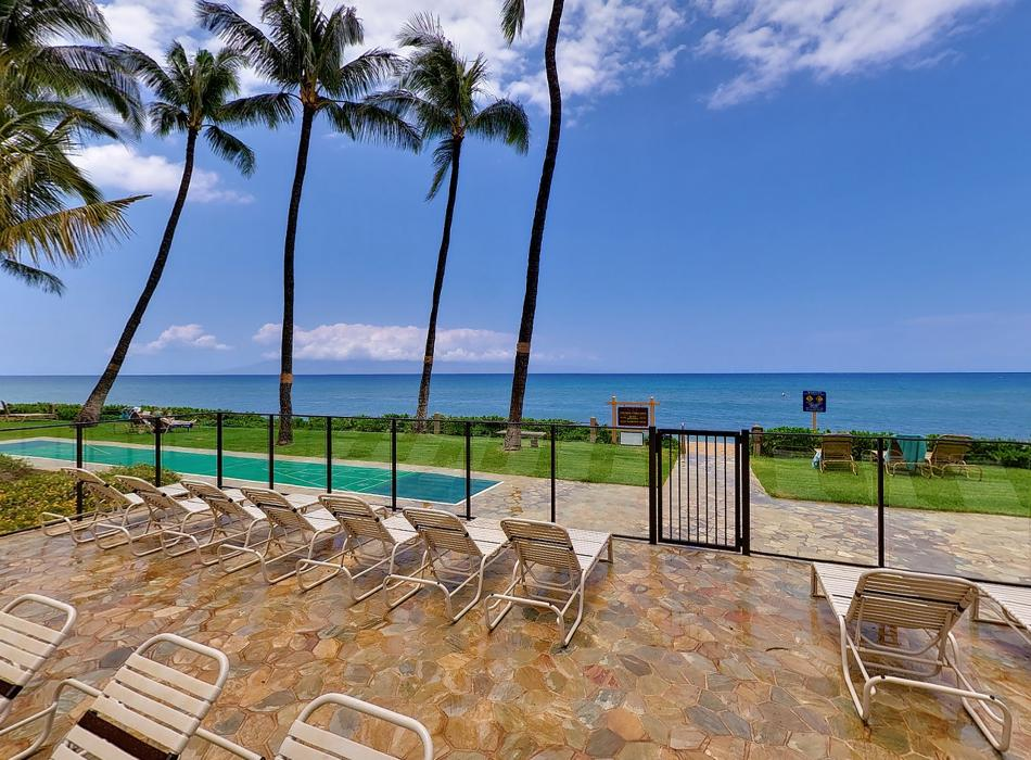 Beautiful views from the sundeck and oceanfront lawn