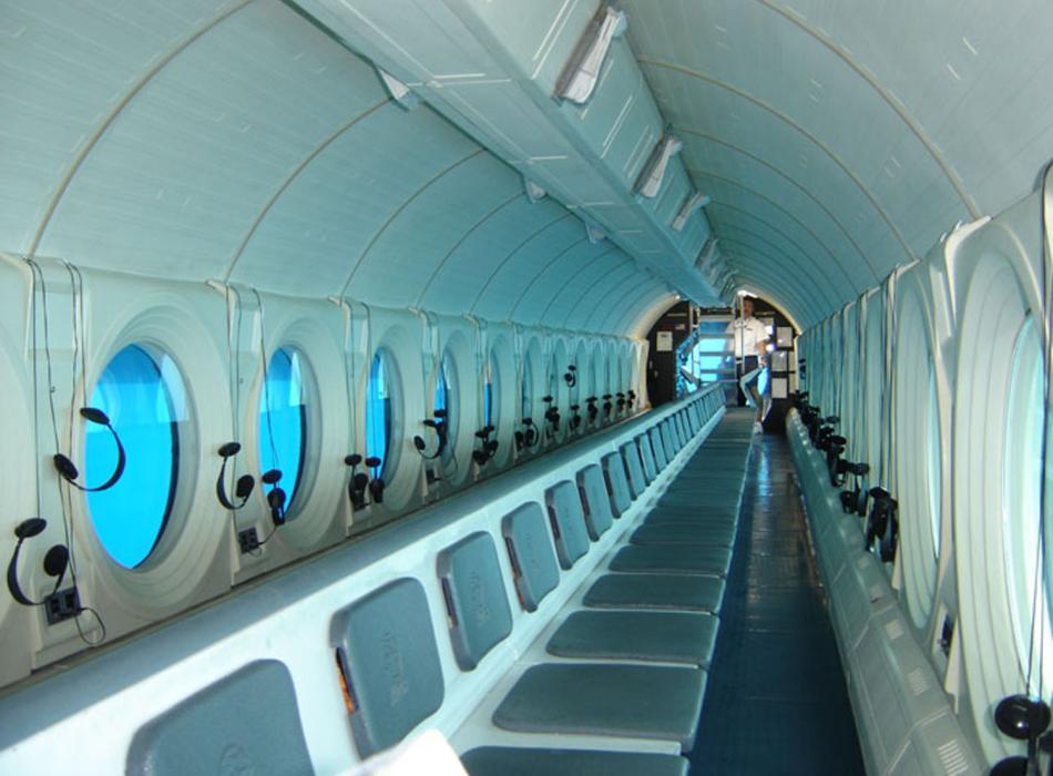 Premium Submarine Interior