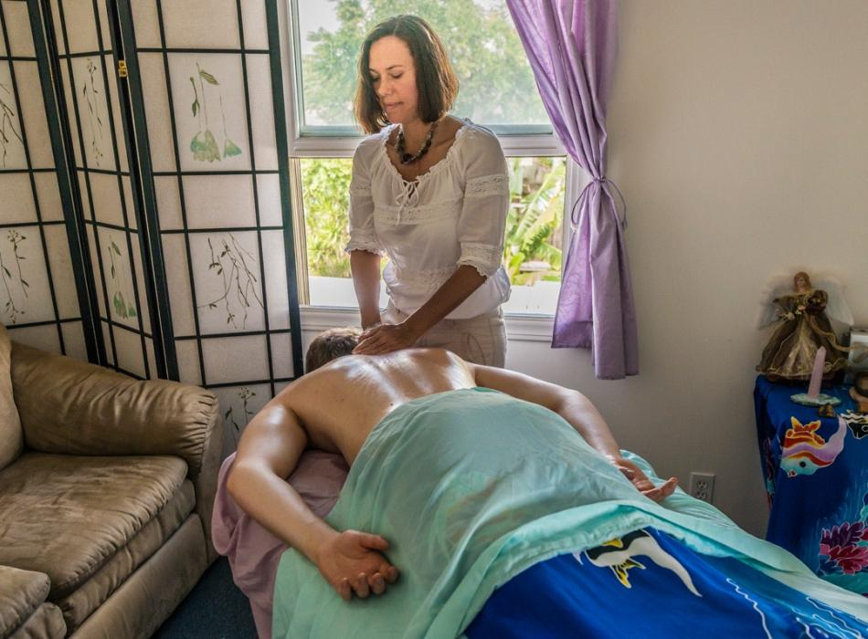 Why not have a relaxing massage?