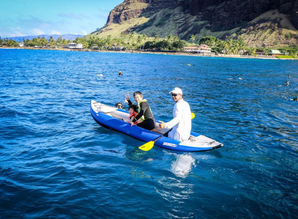 Try out one of our kayaks!