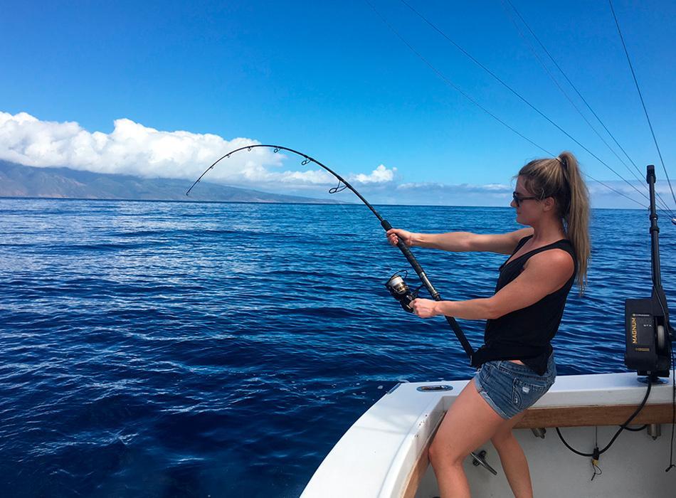 Lighter tackle sport fishing