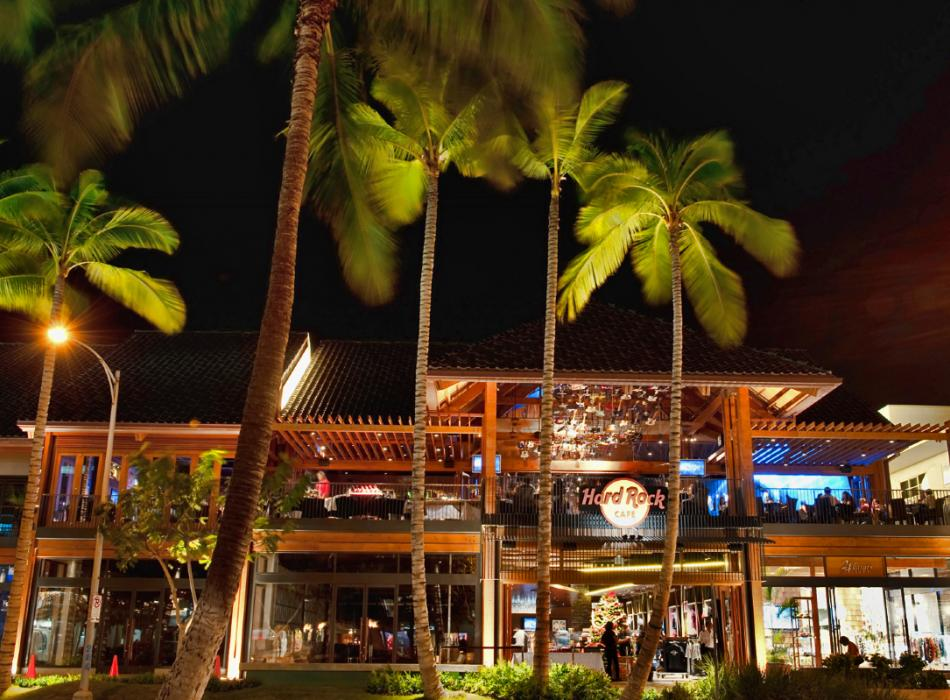 Hard Rock Cafe Honolulu Exterior View