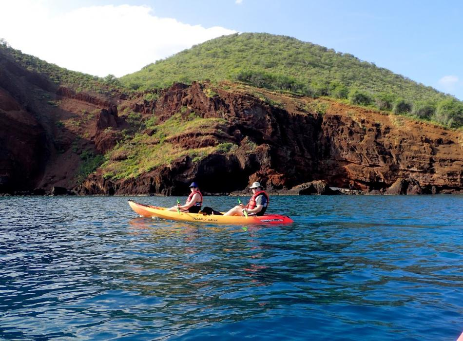 Kayaking on Maui