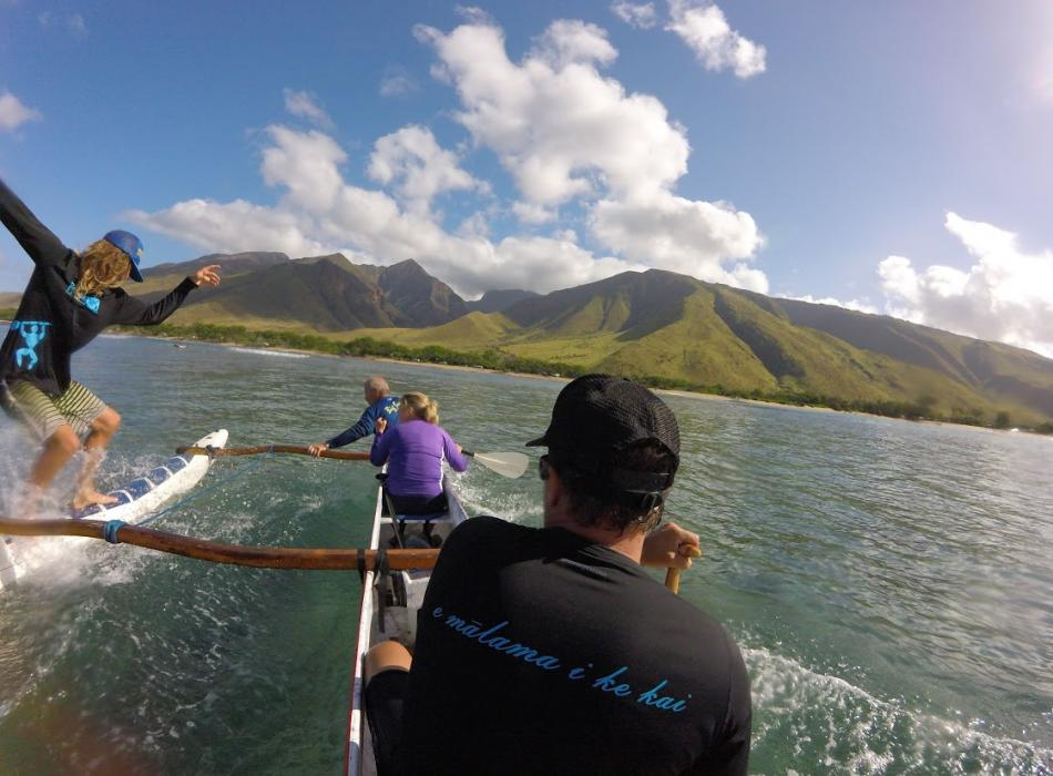 Hawaiian Paddle Sports Canoe Surfing