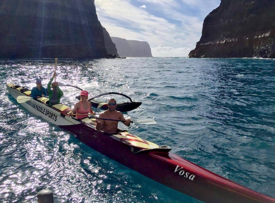 Community Service Paddle to Kahoolawe