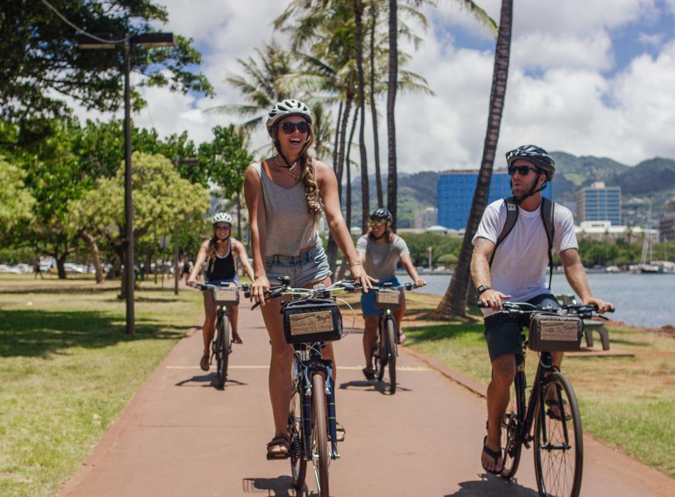 Hawaiian Style Bike Rental