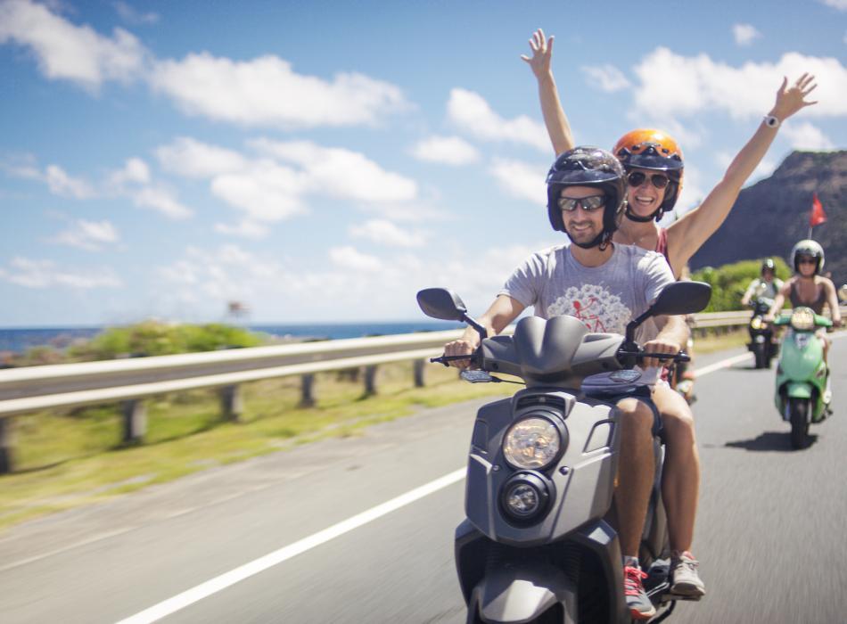 Hawaiian Style Scooter Rentals