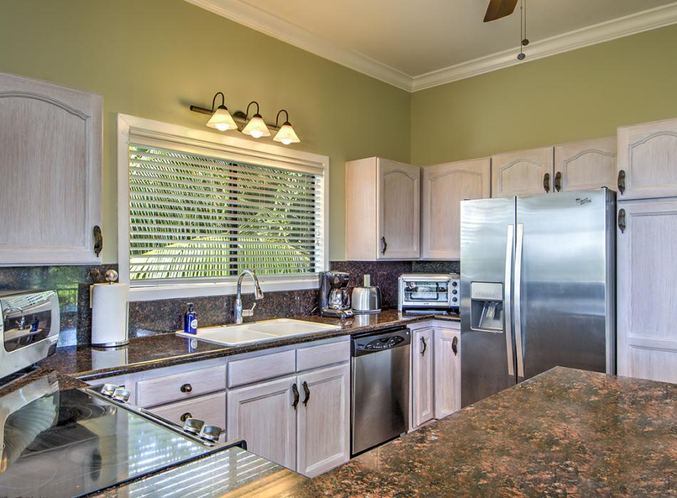 Complete kitchen in Sea Breeze Two Bedroom