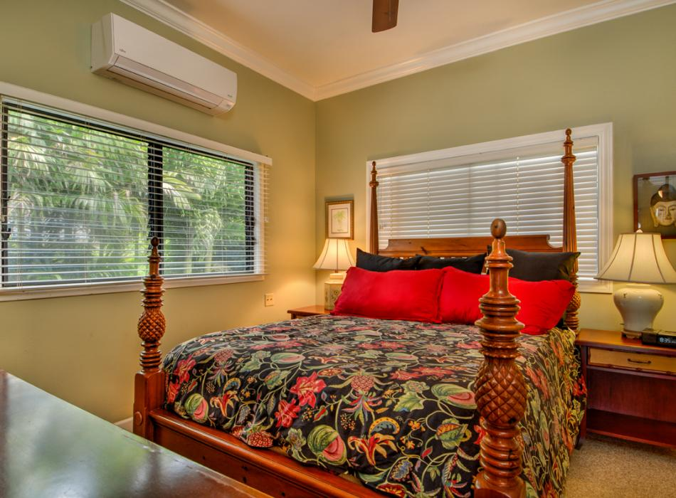 Air conditioned bedrooms