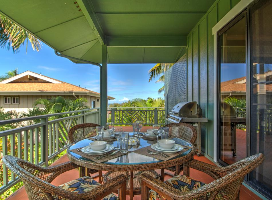 All accommodations have private lanai with BBQ