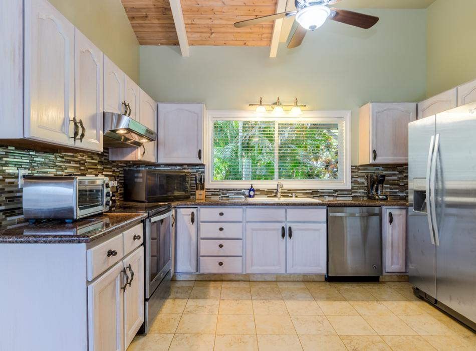 Kitchens Feature Granite Counter Tops, Stainless Appliances and All You Need for Great Meals