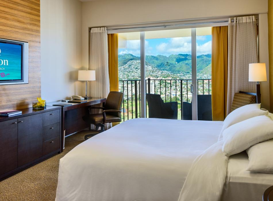 Deluxe Mountain View Guest Room