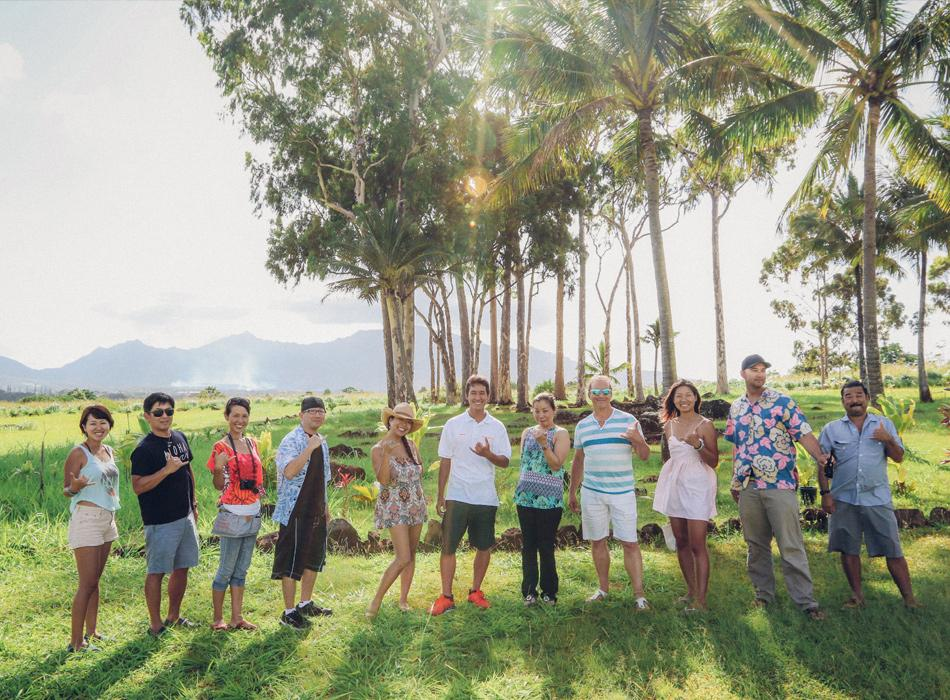 Island and You guests celebrate a beautiful tour