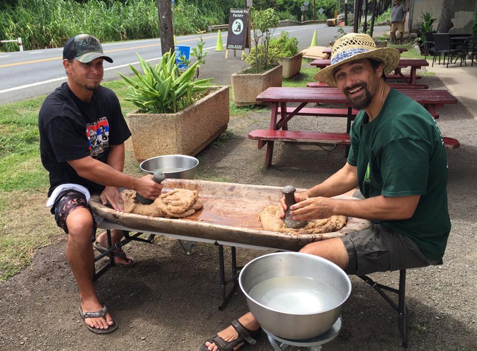 Learn how to prepare traditional Hawaiian poi