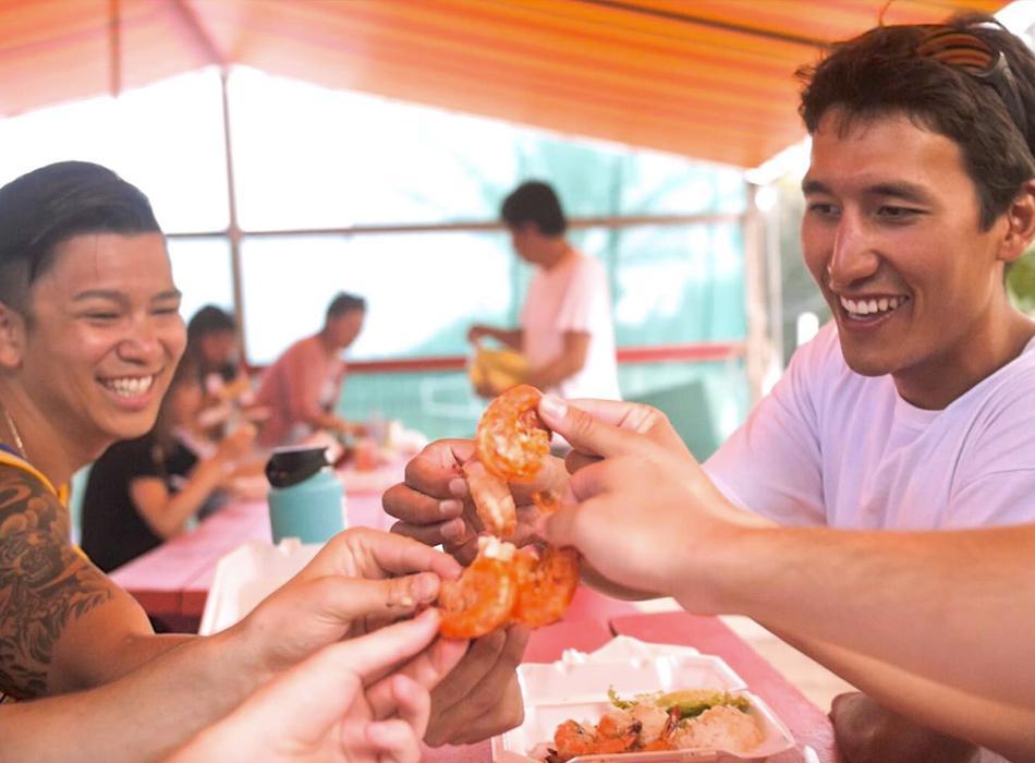Kahuku Shrimp Lunch
