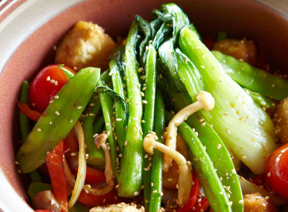 Vegetarian Tofu Stir Fry