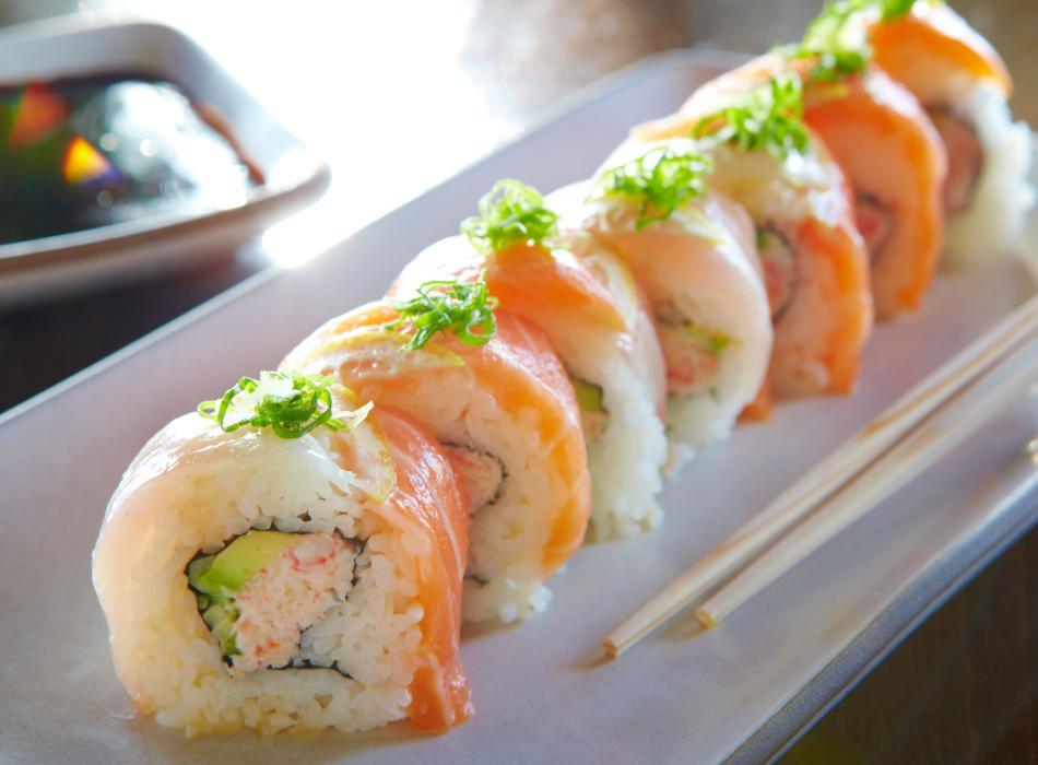 50/50 Sushi Roll