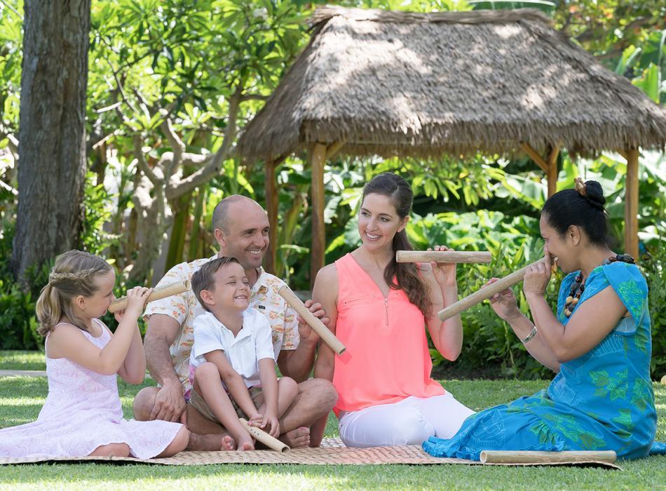 Kaanapali Beach Hotel Cultural Activity - Bamboo Nose Flute
