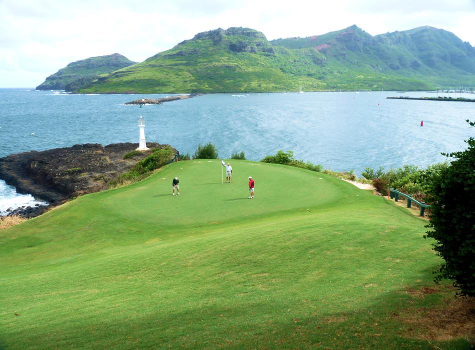 Golfing on Kaua`i