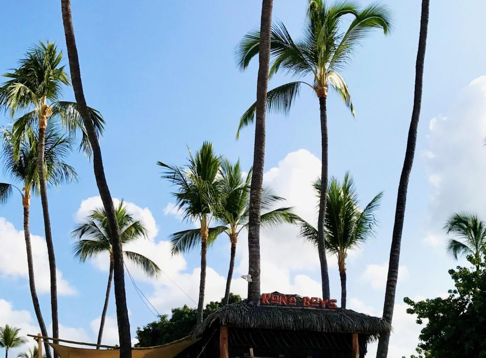 Beach Shack - This is our beach front location at Kamakahonu Cove in the heart of Kailua-Kona.