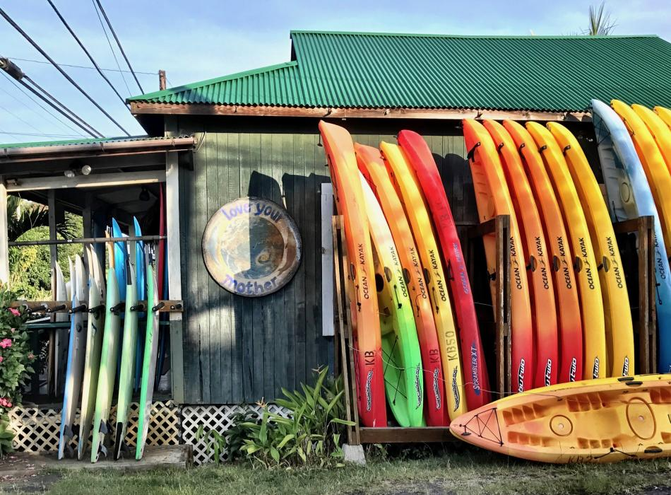 Kona Boys - another view of our home base...