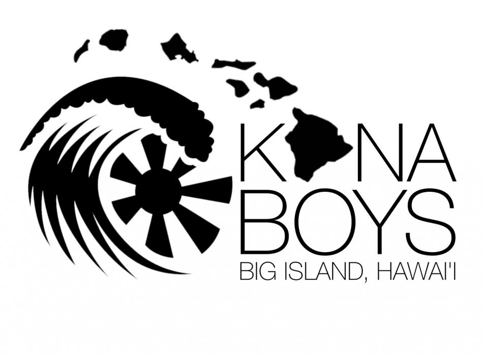 Kona Boys Island Chain Logo