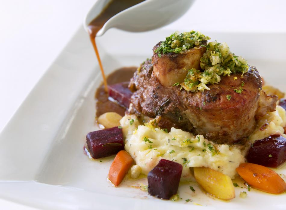 Osso Buco at Lahaina Grill