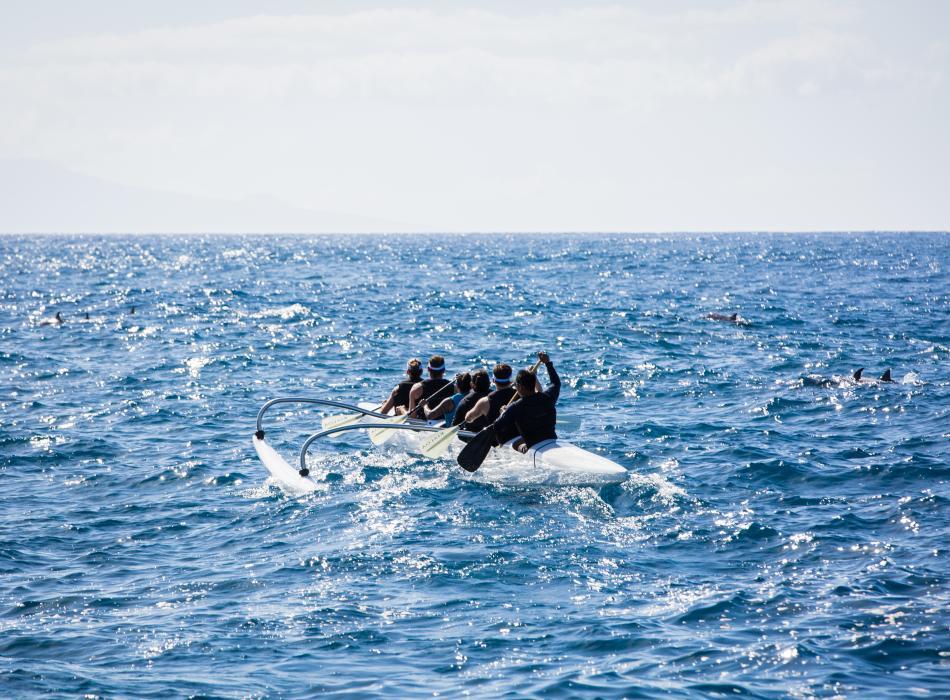 Holo Kai Outrigger Canoe