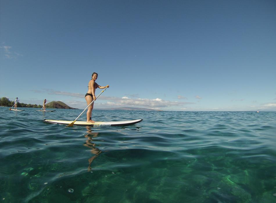 Stand Up Paddling in Makena