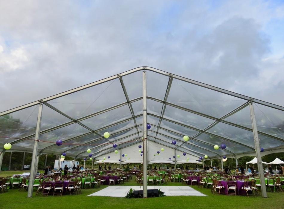 Corporate Event Setting at Field of Dreams