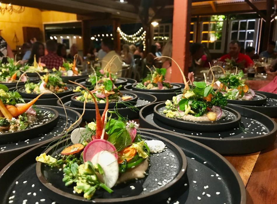 Innovative, Farm-Driven Cuisine